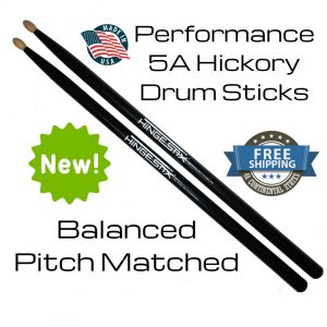 Hickory USA Classic 5A Performance Drumsticks