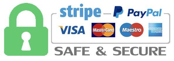 Secure Checkout Stripe Paypal